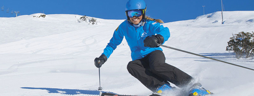 Falls Creek Skier